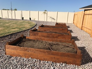 Custom Irrigated Garden Boxes