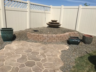 Custom Garden Water Feature