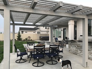 Idaho Pergola Custom Patio