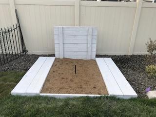 Landscaping Horse Shoe Pit